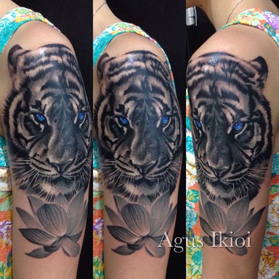Tiger girl with tattoo realis tattoo art pinterest tiger girl tiger girl with tattoo izmirmasajfo