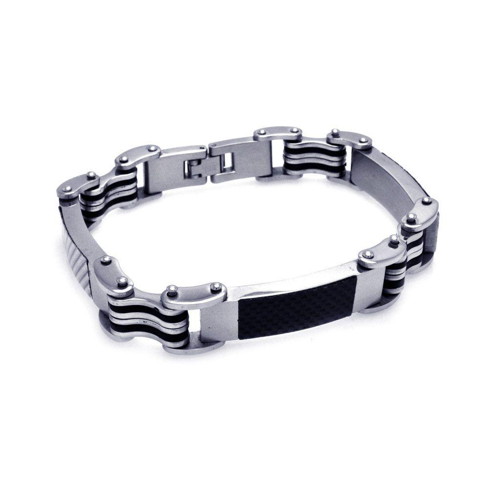 Menus stainless steel bracelet ssba products steel