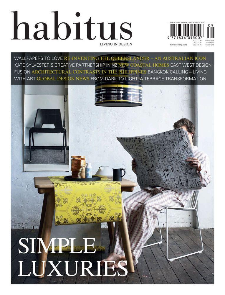 Habitus Magazine Book Urban Architecture Living In Design 2010