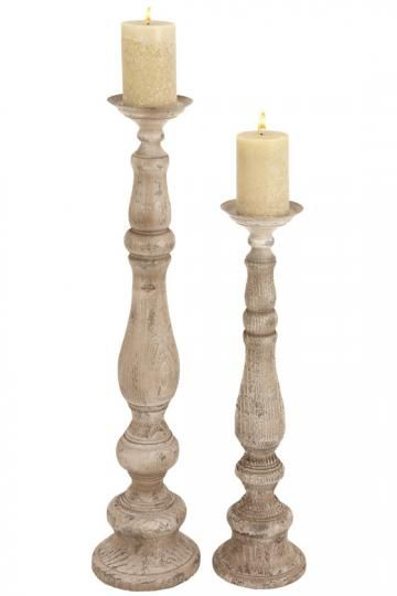 Lindell Candle Holders Distressed Finish Homedecorators Candle Holders Candles Candleholders Candles