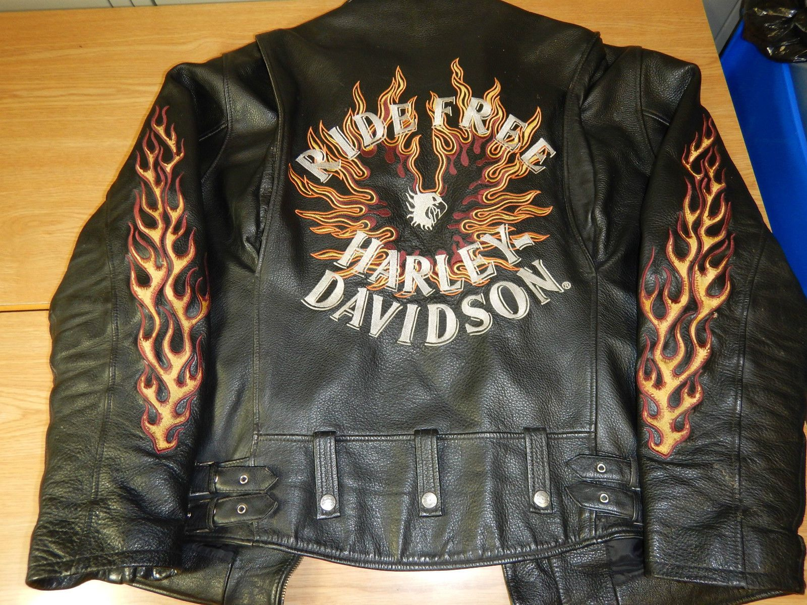 Harley davidson patches for leather jackets