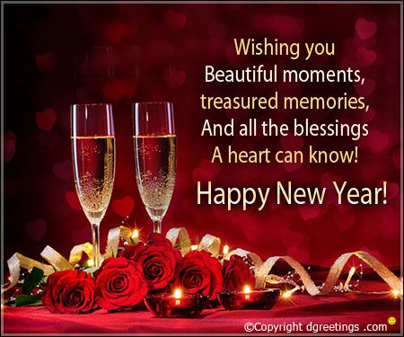 send happy new year messages to your near and dear ones to wish them good health and prosperity