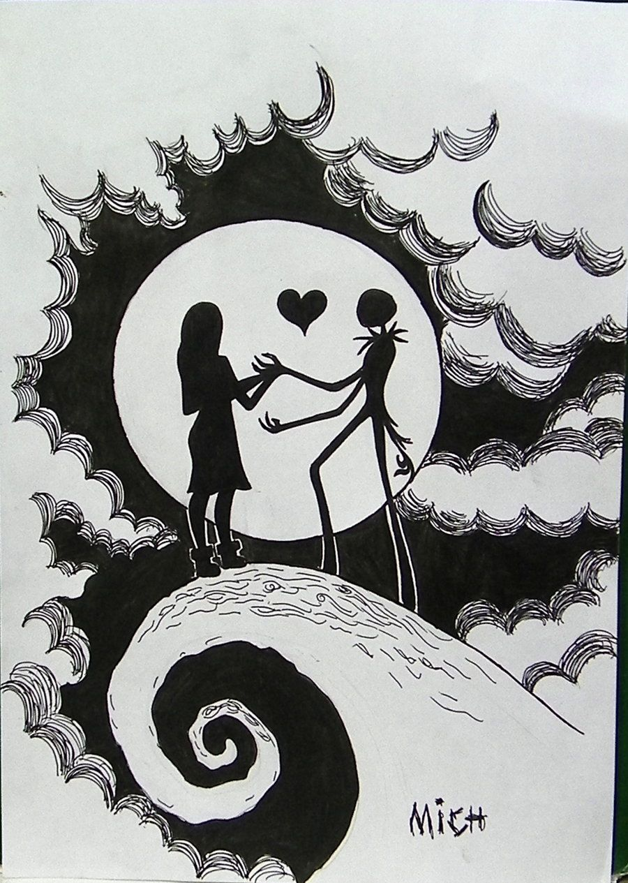 Jack And Sally By Mishellecintra On Deviantart Nightmare
