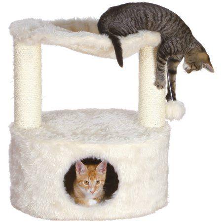 Trixie Pet Products Baza Grande Cat Tree, Cream, White