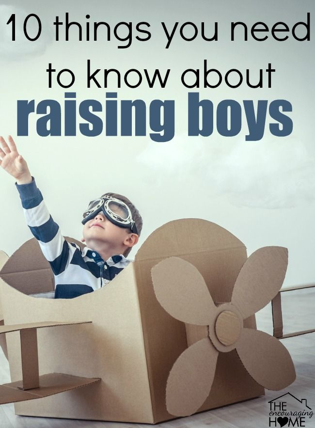 10 Things You Need to Know about Raising Boys