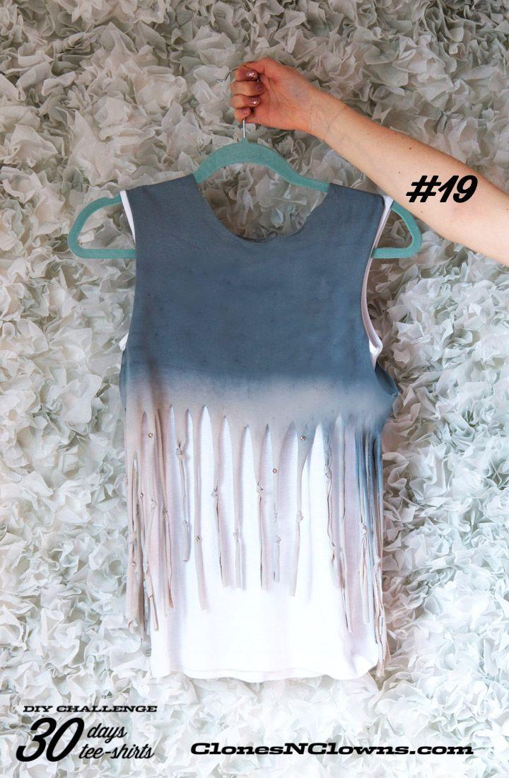 Design t shirt diy - Diy 30 Days 30 Tee Shirts 19 Fit For A Festival Diy