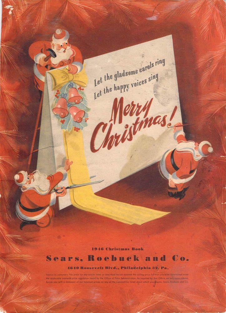 01c3e9d6dc4e8 1946 Sears Christmas Catalog | Christmas Catalogs | Christmas ...