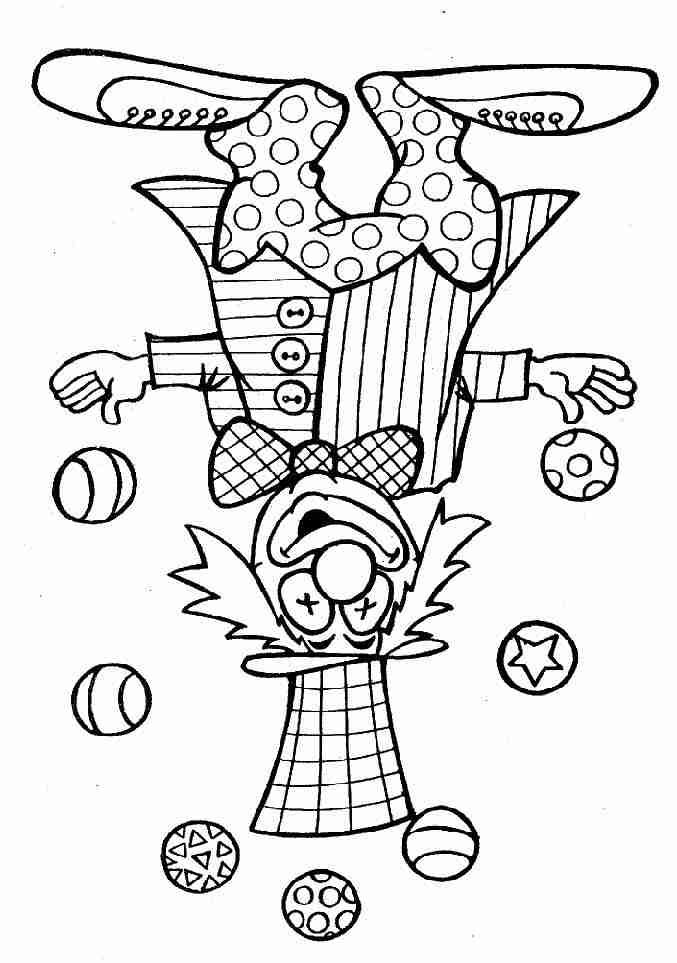 R sultat de recherche d 39 images pour coloriage clown coloriages pinterest coloriage - Coloriages clown ...