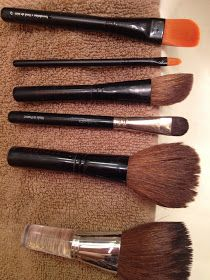 Luci's Morsels: How To: Clean Makeup Brushes