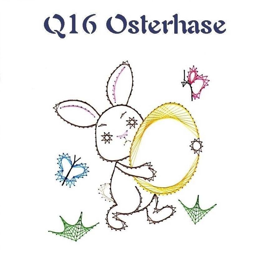Q 16 Osterhase Haft Matematyczy Pinterest String Art Paper