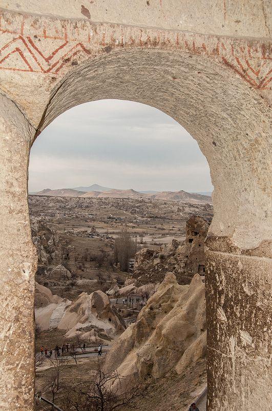 Goreme Open Air Museum Türkiye, Kapadokya, Doğa
