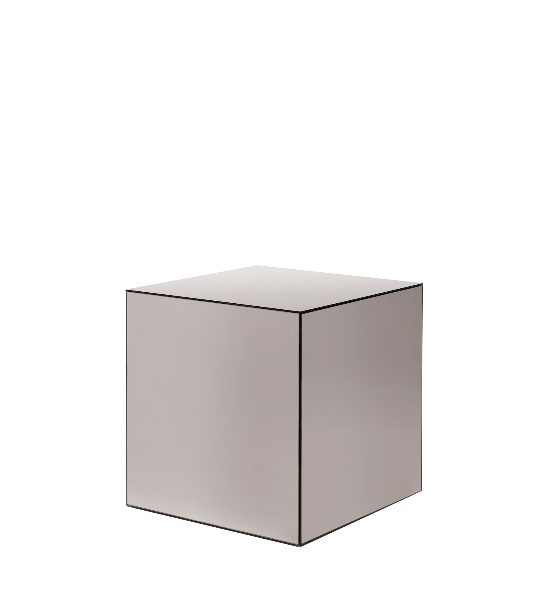 Laskasas | Naomi Side Table | Cubic side table fully made with ...