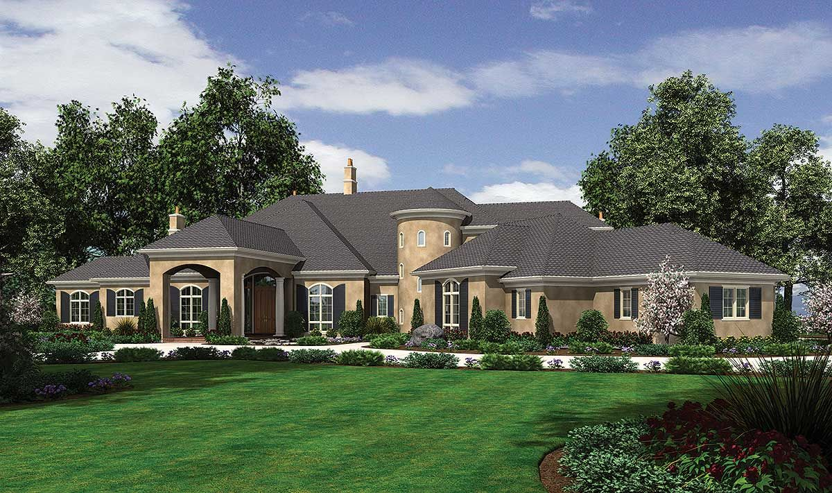 Plan 69463am Spectacular European Showplace Luxury House Plans European House Luxury Plan