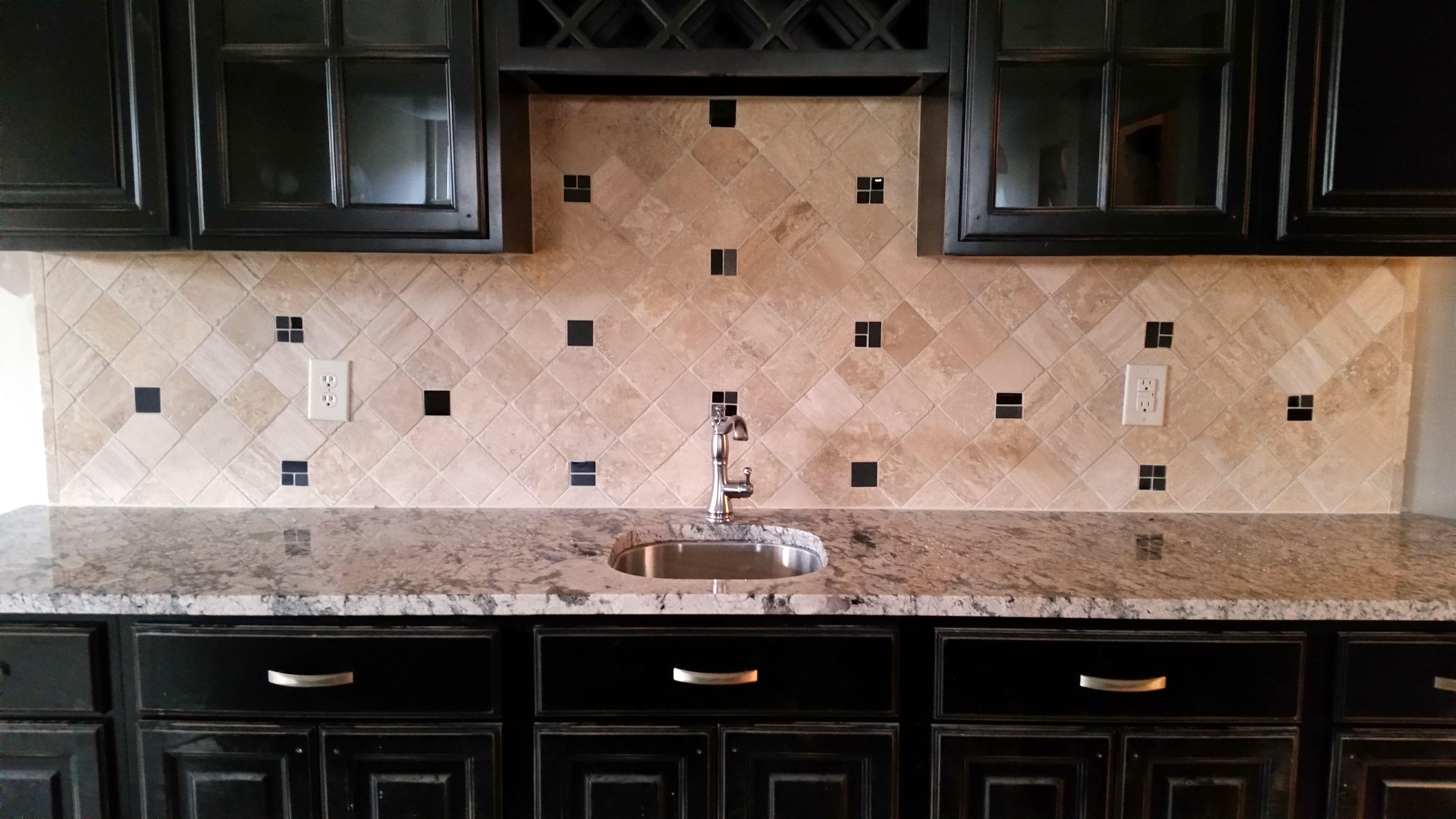 emser tile back splash with dot insert custom floor luxury vinyl tile flooring store