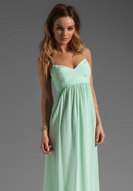 AMANDA UPRICHARD Silk Gown in Sherbert at Revolve Clothing - Free ...