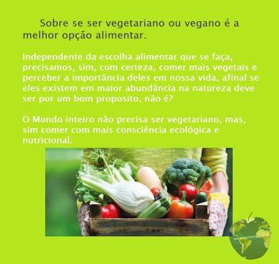 Nutrição Global: O Mundo precisa ser todo vegetariano?