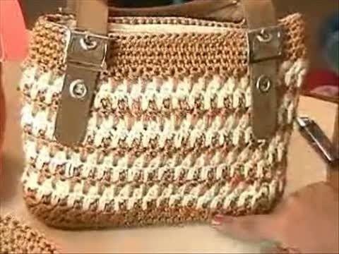 6841d3ddbc8b How to #Crochet Look A-Like #PRADA BAG #Handbag #TUTORIAL #203 - YouTube