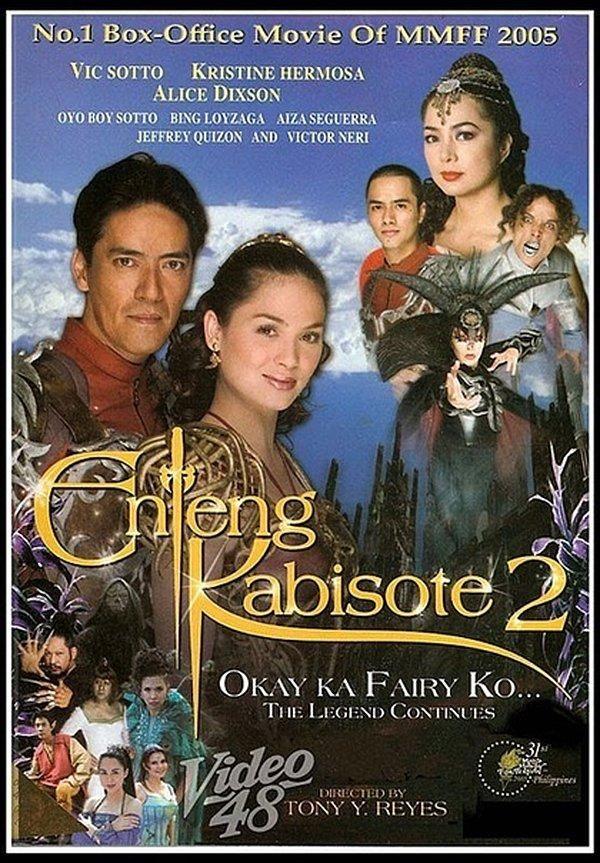 Enteng Kabisote 2 Okay Ka Fairy Ko The Legend Continues 2005 Pinoy Movies Box Office Movie Movies