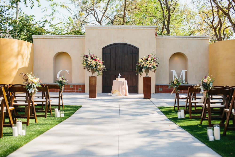 The Gardens at Los Robles Greens Wedding Christina + Mike