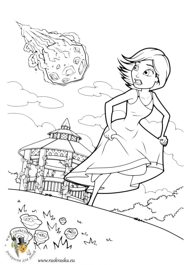 Monsters vs. Aliens coloring book | Colorbook Pages | Pinterest ...