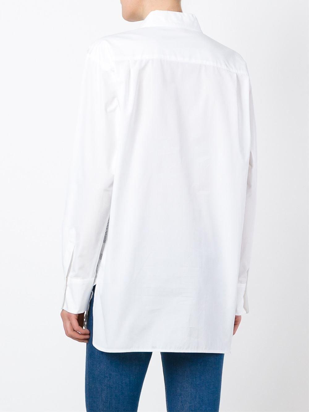 See By Chloé Camisa com bordados