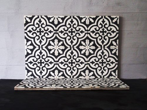 Moroccan Had Crafted Cement Tiles, straight from the small family company. #supporttheartisans Madesign.fi