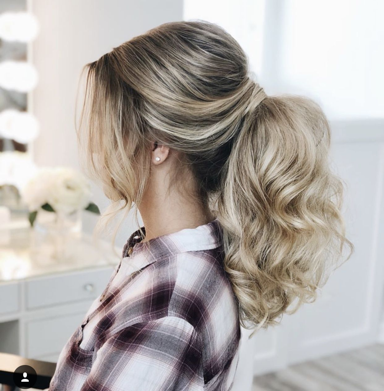 Formal updo ponytail hair styles pinterest formal hairstyles