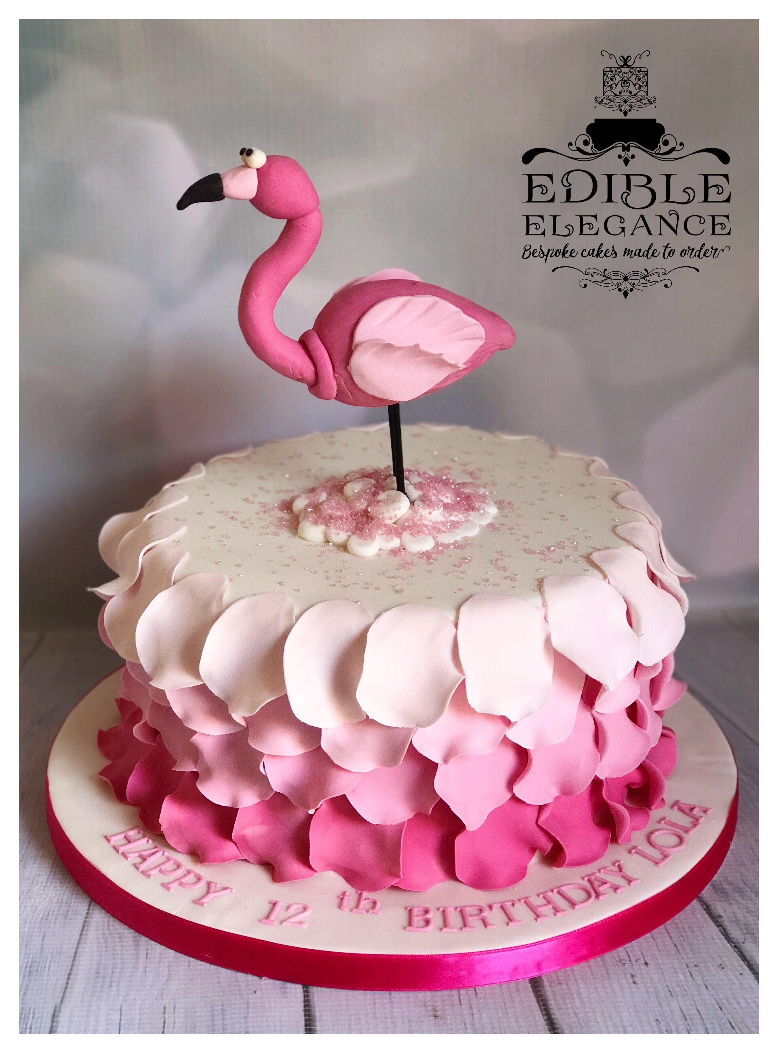 Pink Flamingo Birthday Cake Flamingo Birthday Cake Baby