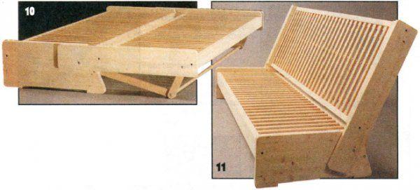 Как сделать раскладной диван фото 554