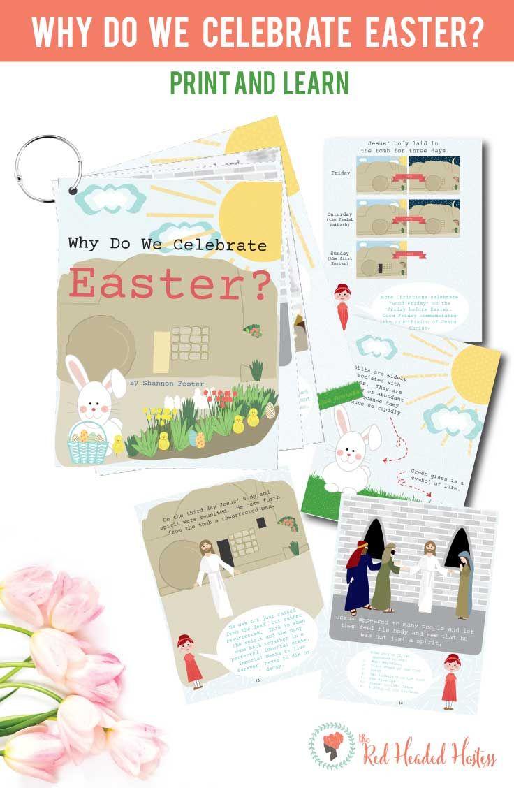 Easter Flip Books Red Headed Hostess Pinterest Easter Symbols