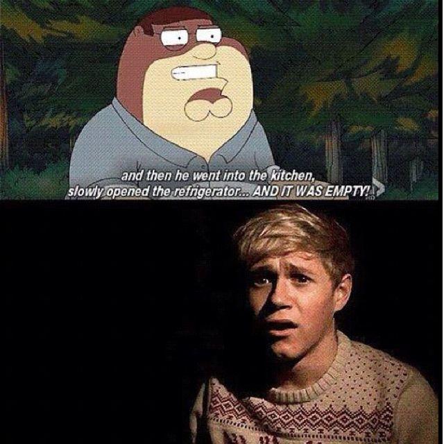 Hahahaha poor Niall :D