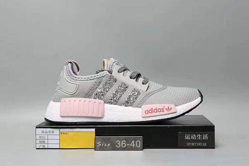 d2914cb84f4f1 Over Half Off New Arrival 2017 June Swarovski Blinged Adidas Nmd Runner Max  Orange Pink Flash Athletic Shoes Swarovski Crystal Shoes 2017 Glitter