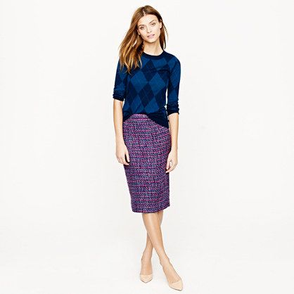 J. Crew is working these mixed prints for the fall!