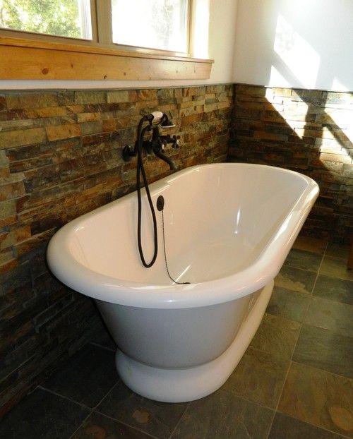 Volcanic limestone bathtub | kitchen & bath | Pinterest | Bathtubs ...