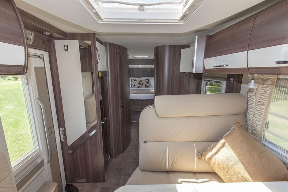 Inside The Burstner Nexxo T740 European Motorhome For Sale Interiors Luxurious Interior Has