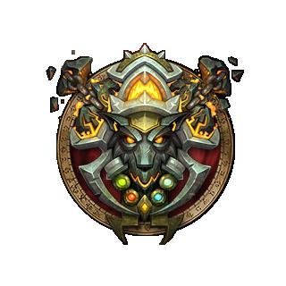 Class Icon Shaman By Ammeg88 Shaman In 2019 World Of Warcraft