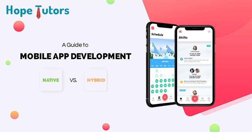 Career Prospects of Hybrid or Native Mobile App
