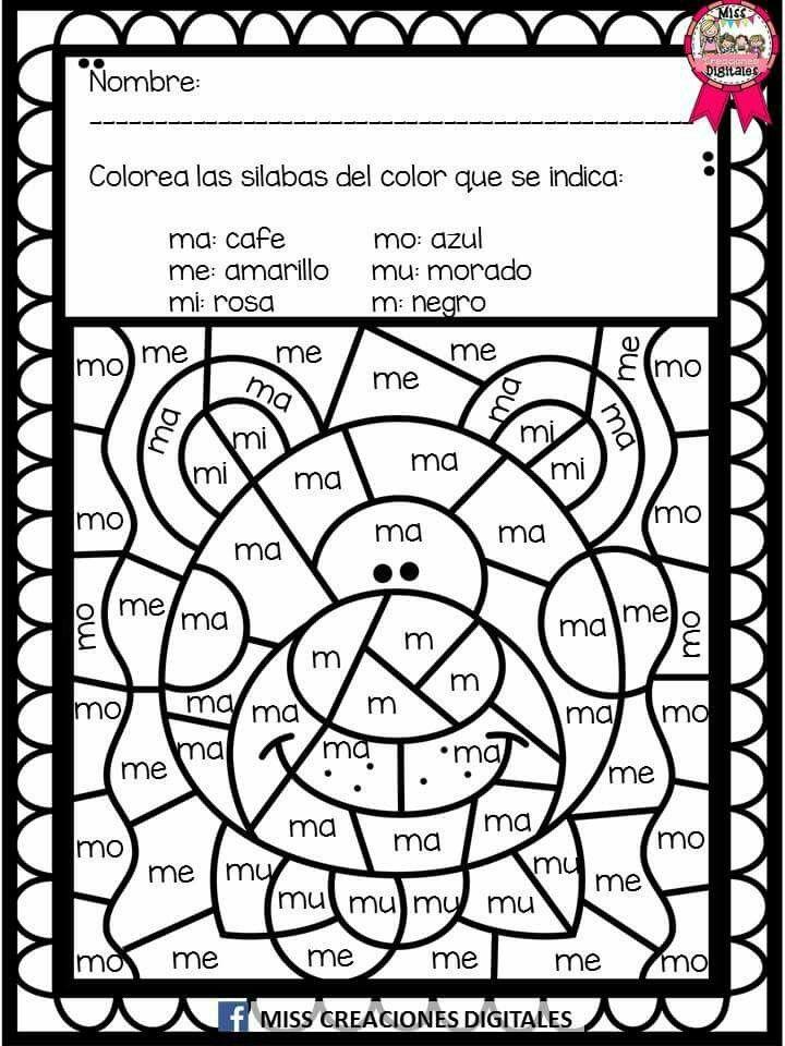 Pin By María Godinez On Silabas Pinterest Dual Language Spanish