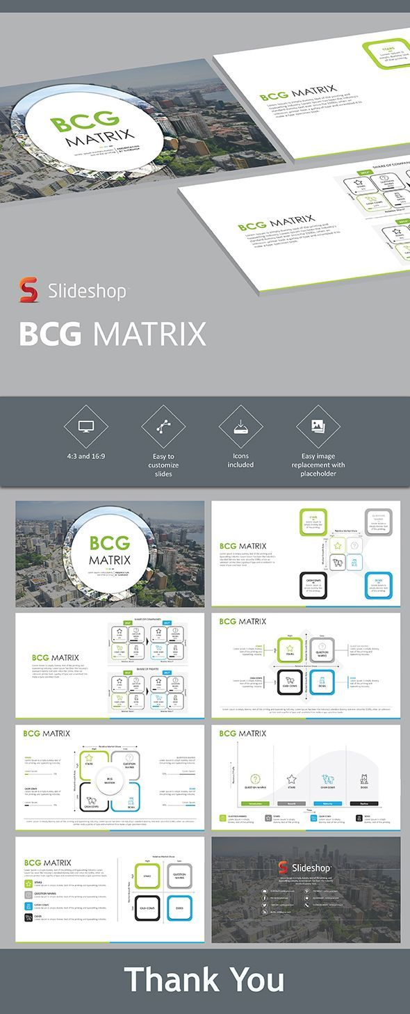 BCG Matrix | Template, Ppt design and Presentation templates