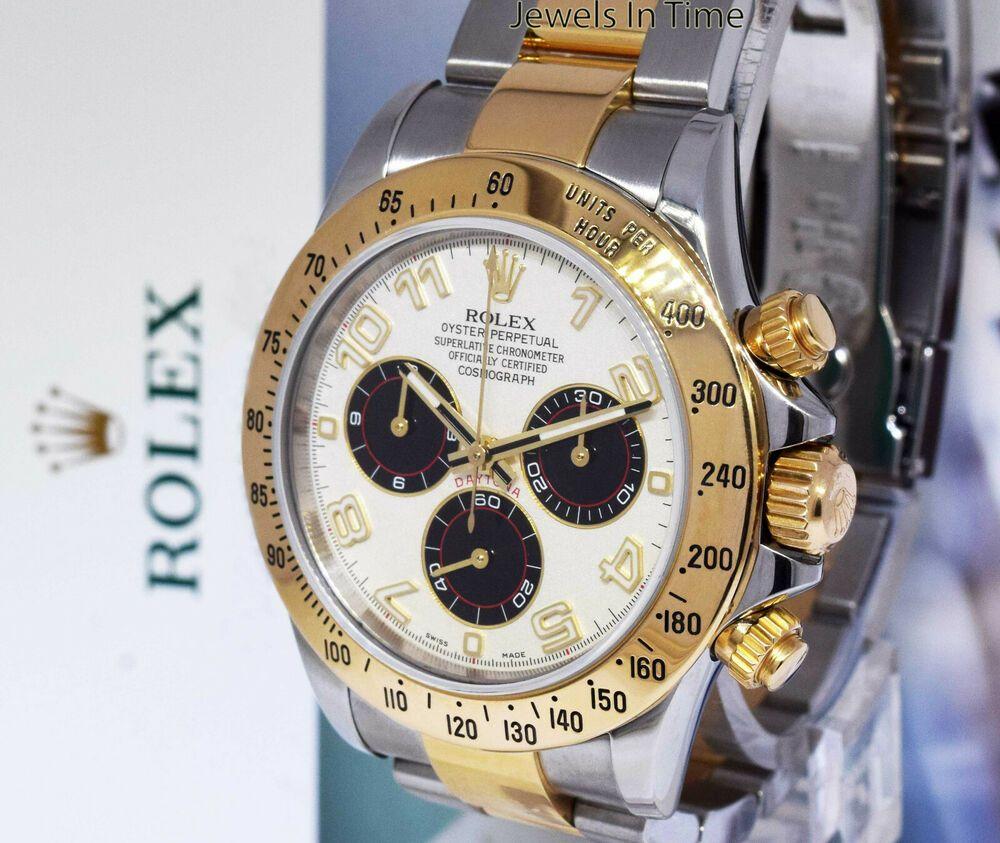 Rolex Daytona Chronograph Steel Mens Automatic Panda Dial Watch #rolex #menswatches #watchesformen #rolexdaytona