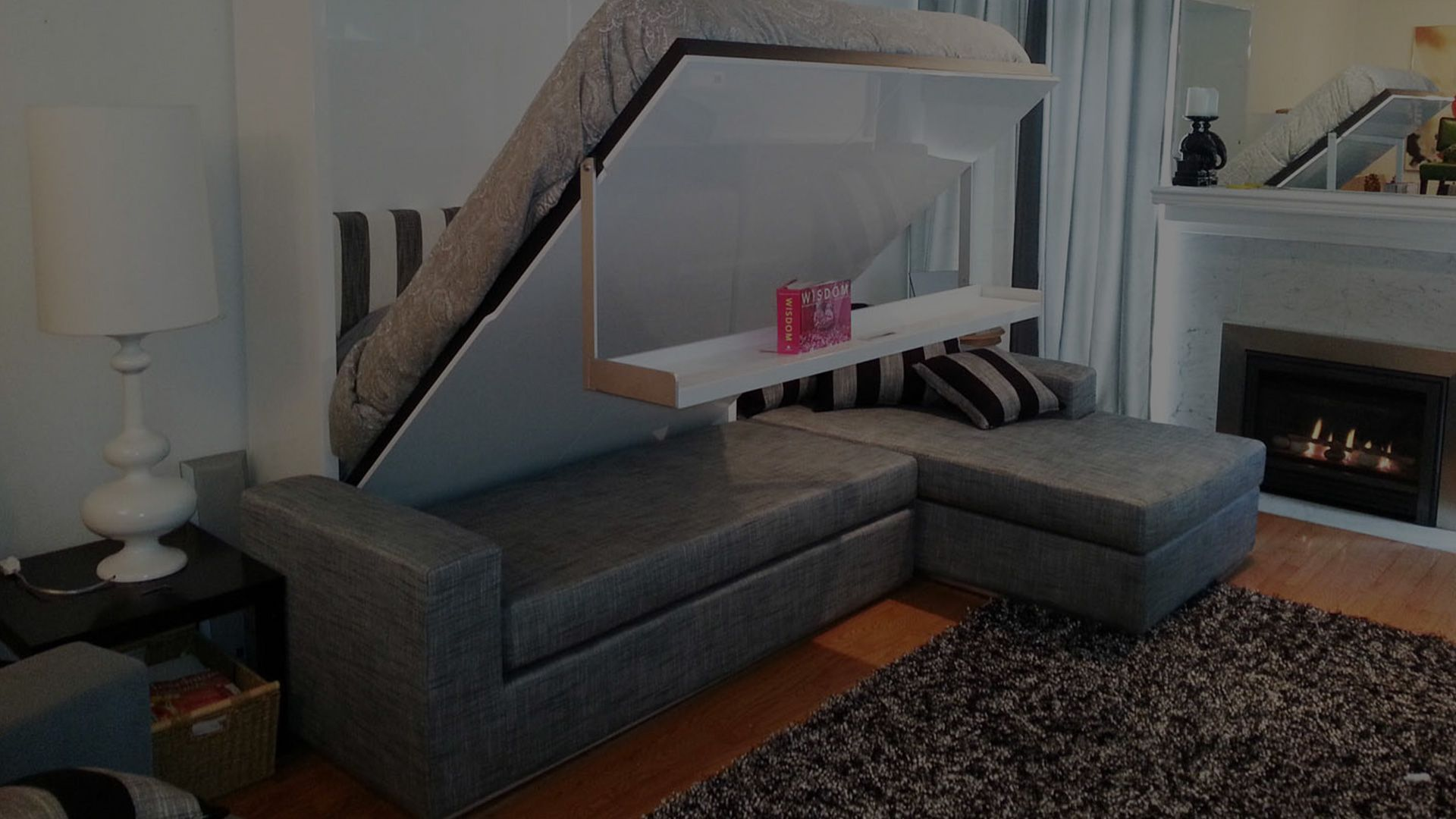 Space Saving Hidden Beds add a room to your home through