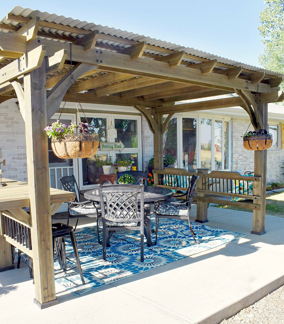 Sams Club Pergola Farmhouse Back Yard Pergola Outdoor Pergola