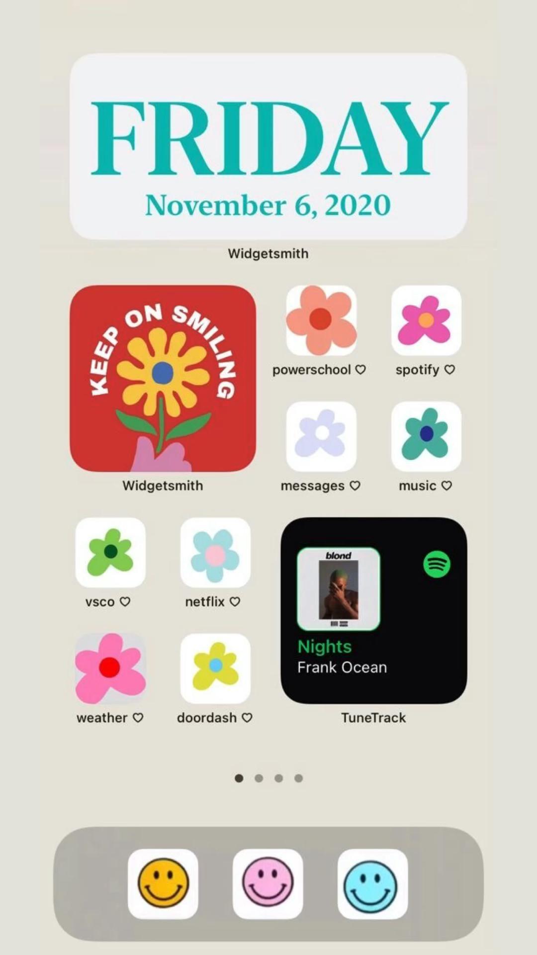 IOS Homescreen Idea