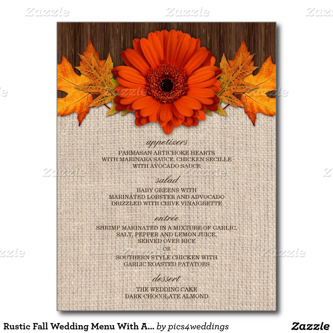 Exelent Wedding Invitations Autumn Collection - Invitations and ...