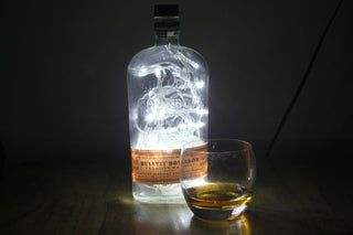 Photo of Make a Cool Light From a Whiskey Bottle