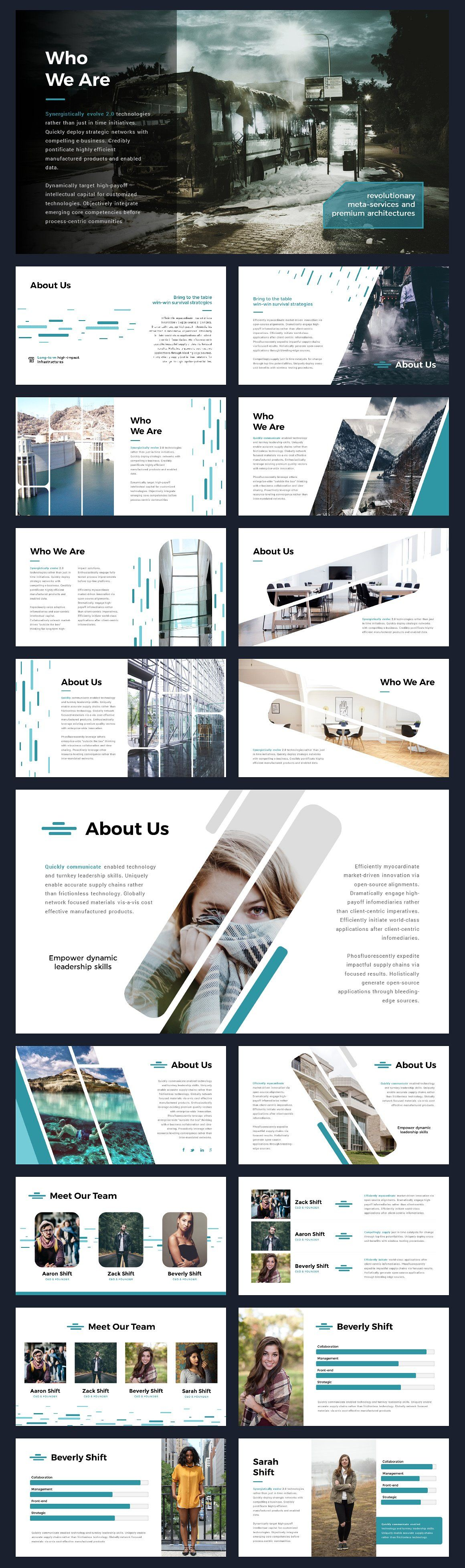 Portal modern powerpoint template portal template and modern shift modern powerpoint template toneelgroepblik Image collections