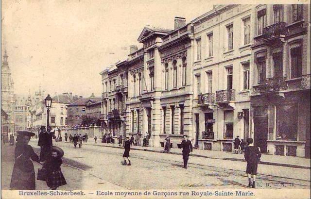 Rue royale ste marie cole des gar ons paris belle for Rue des garcons