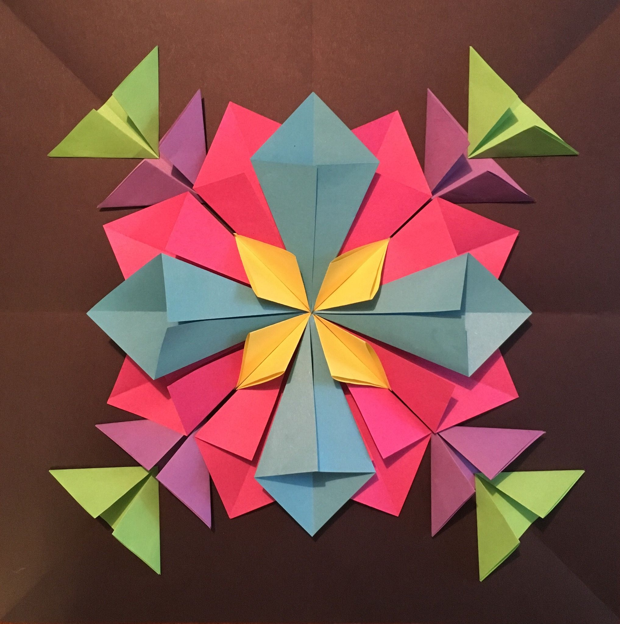 How to Create a 3D Radial Symmetry Paper Sculpture | sculpture ...