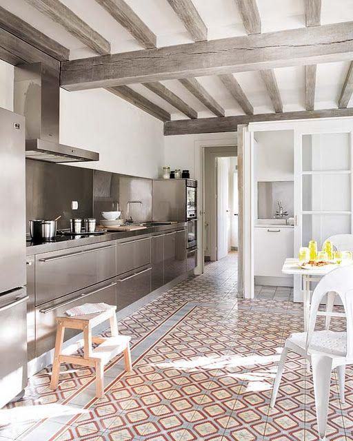 Pin De Icono Interiorismo En Decoraci N Cocinas Suelos
