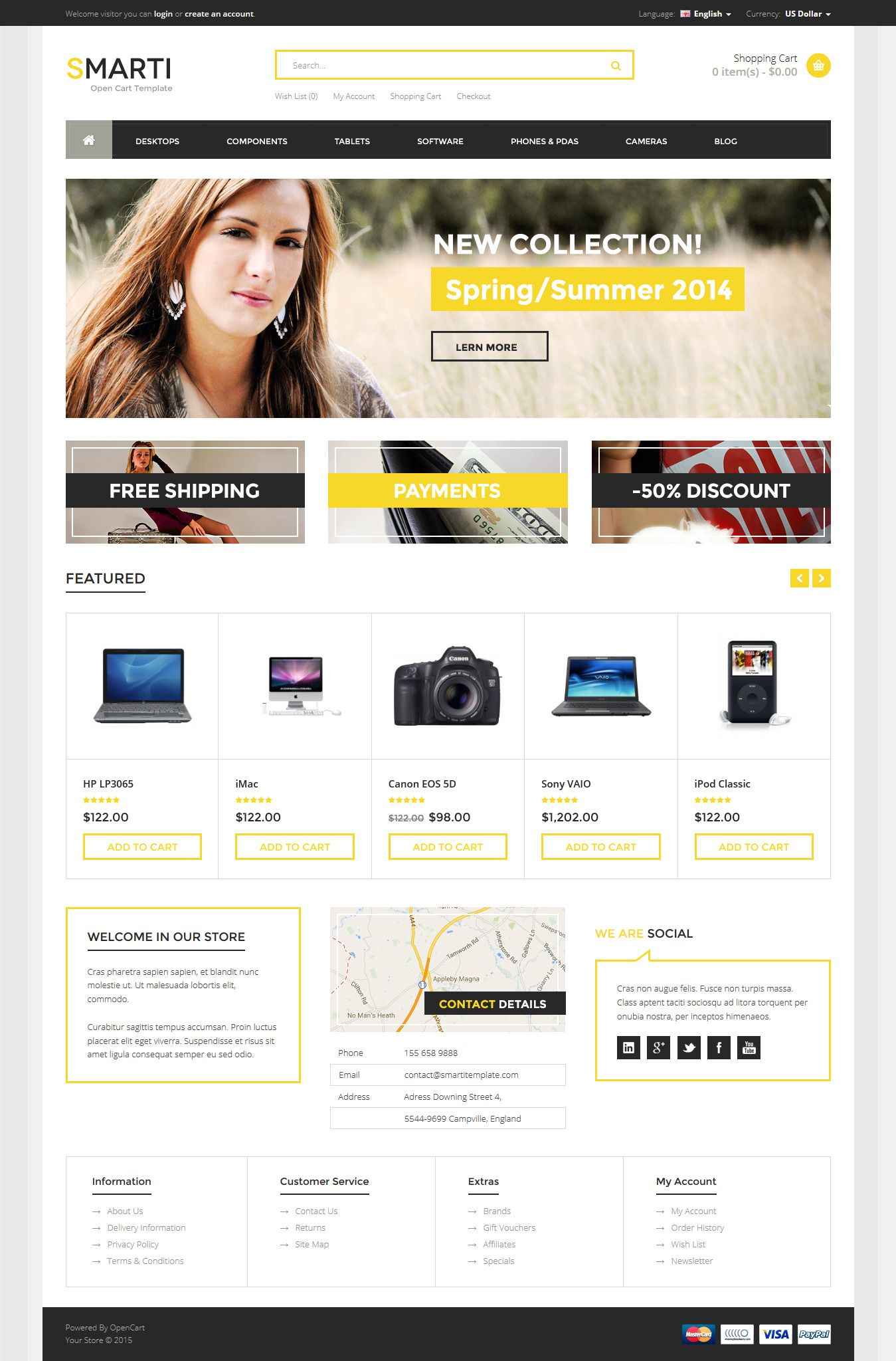 Smarti - Responsive Multipurpose Opencart Theme #cms #opencart Live Preview & Download: http://themeforest.net/item/smarti-responsive-multipurpose-opencart-theme/10618844?ref=ksioks